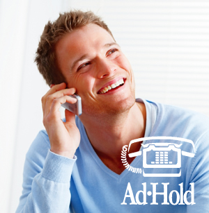 On hold advertising programs for HVAC companys